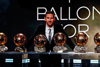 Messi becomes Ballon d'Or champion...