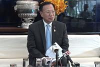 Cambodian parliament: Sam Rainsy...