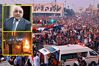 Iraqi PM urges protesters to end...