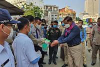 Cambodian Prime Minister Samdech Akka...