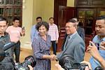 European Union Ambassador Carmen...