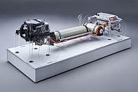 BMW has a fuel-cell powertrain in the...
