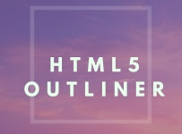 outliner html5