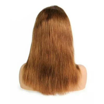 Human hair blonde lace wig
