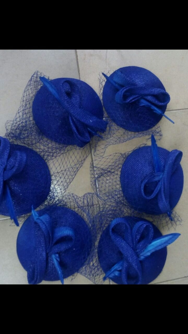 Fascinator and bouquets