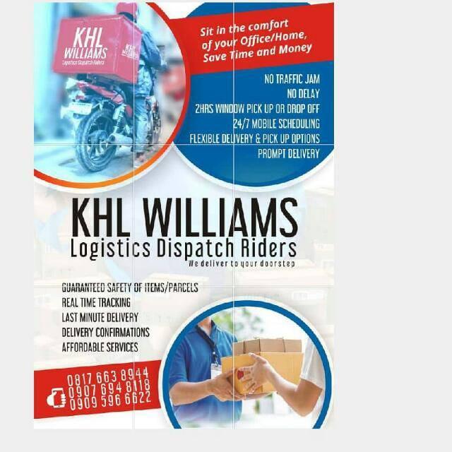 KHL Williams dispatch riders