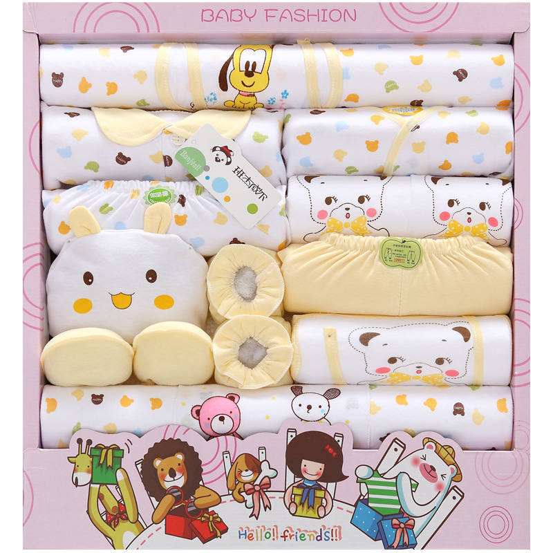 Baby cloth gift set