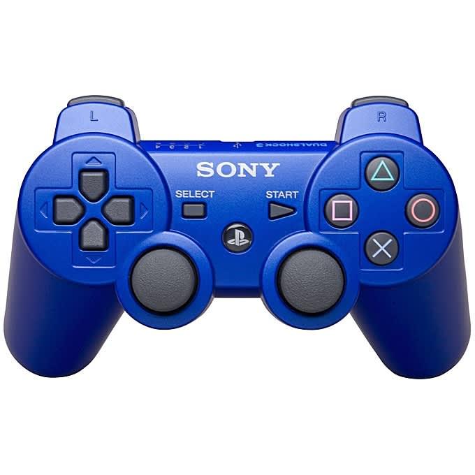 PS3 DualShock 3 Wireless Controller Pad - Blu