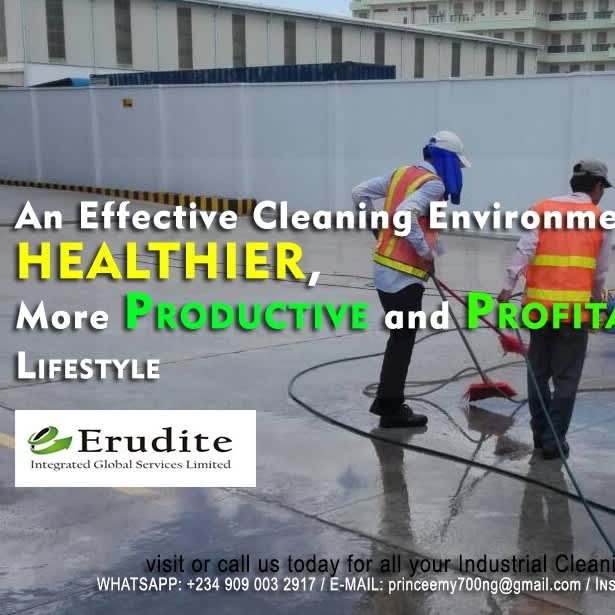 Quality home, office and industrial cleaning