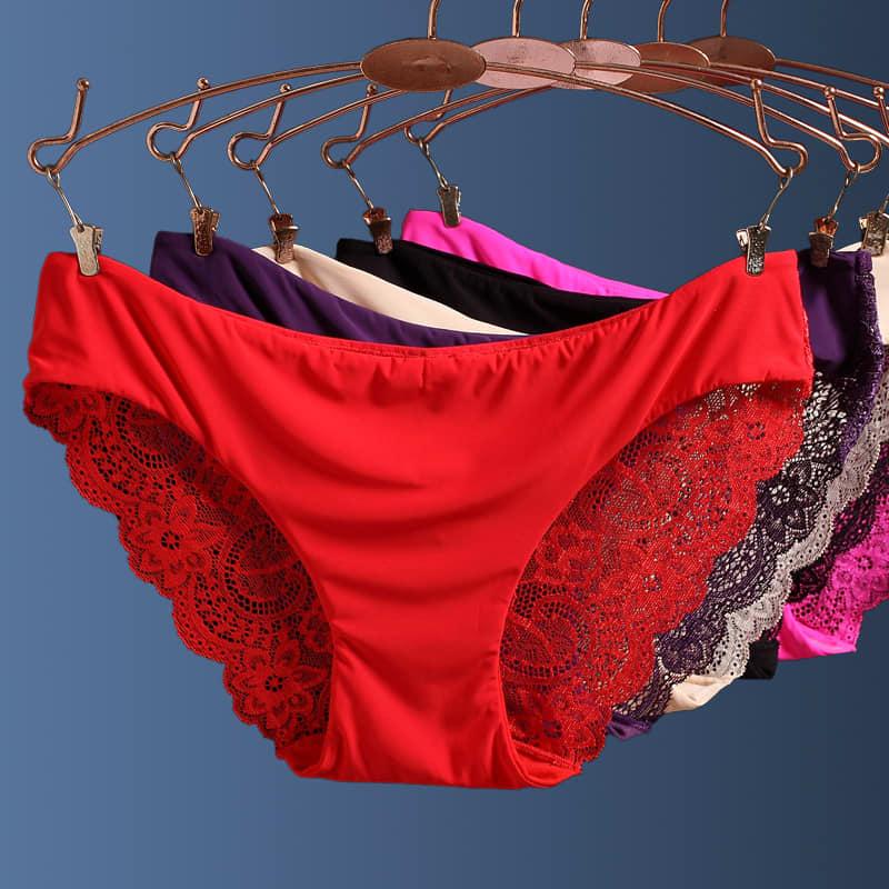 Ladies Lace Pant - Set of 3