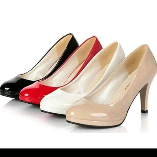White Heel Shoes