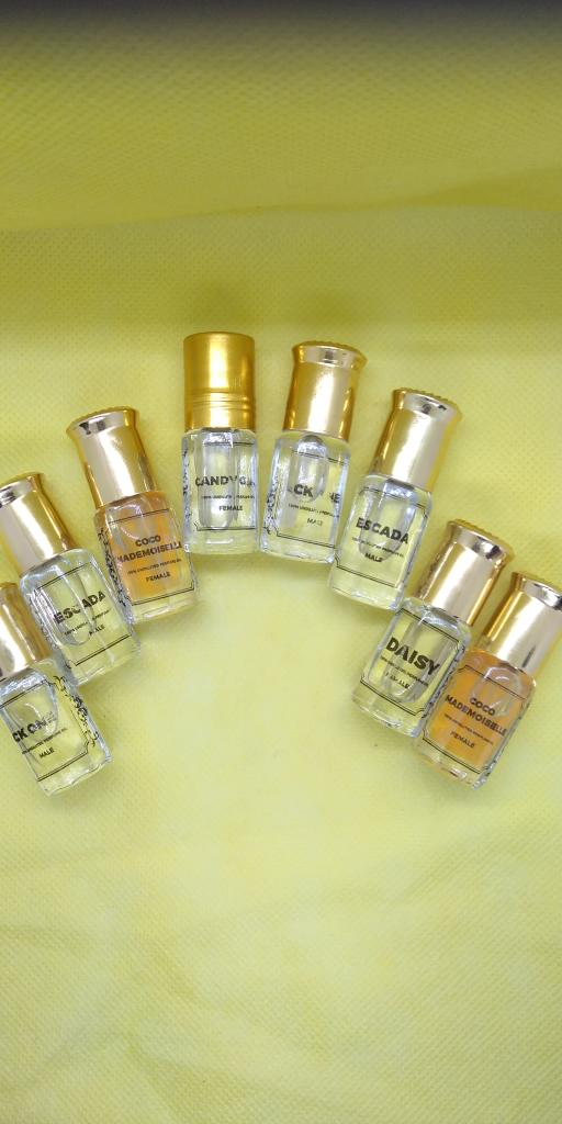 Designer perfume oil