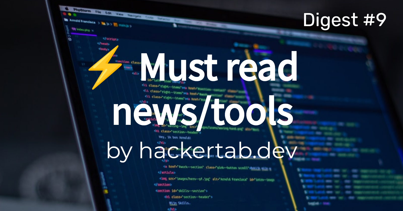 ⚡ Must read Tech news/tools of the day - Digest #9