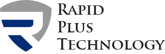 Rapid plus technology dark logo