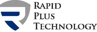 Rapid plus technology dark logo