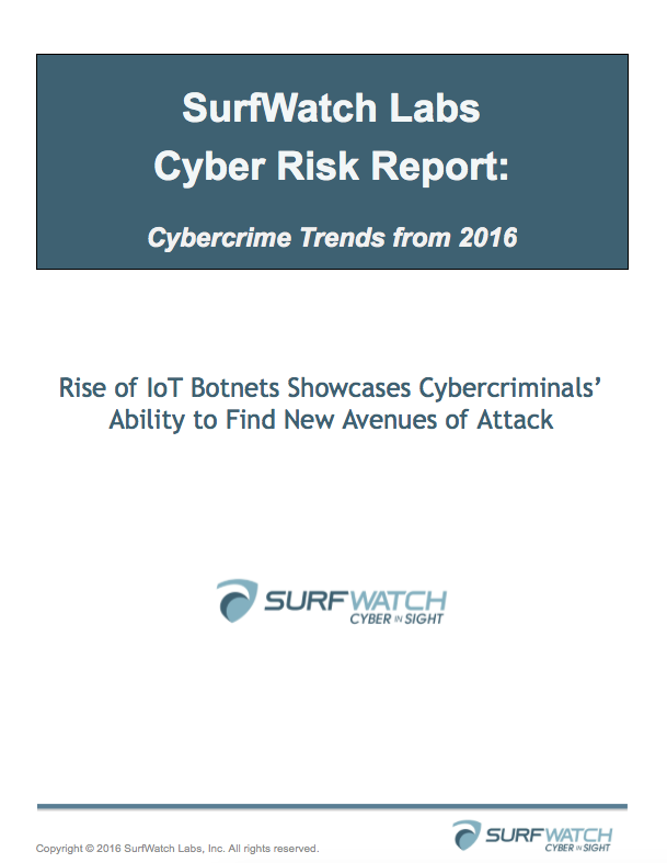 Rise of iot botnets   cybercrime trends report for 2016