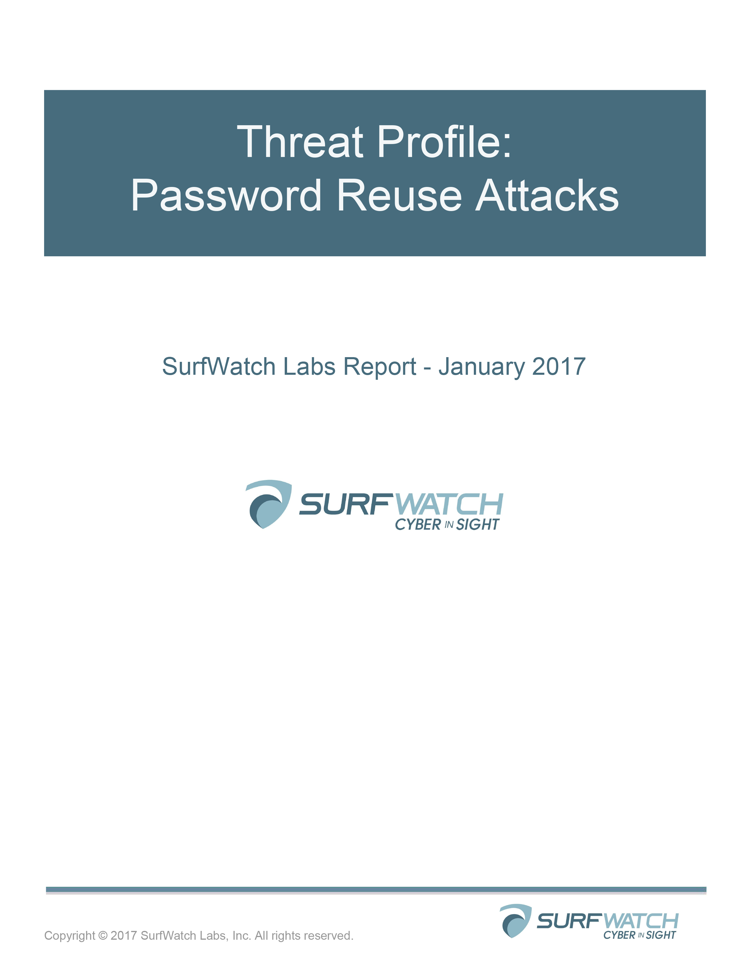 Threat profile   password reuse attacks   jan 2017 1