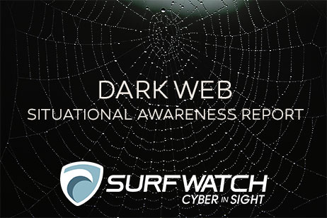 Dark web situational awareness report 462w