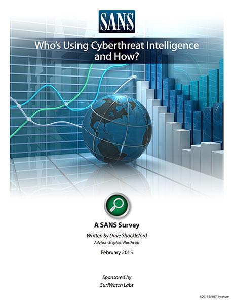 Sans whos using cyberthreat intel 462w
