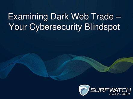 Examining dark web trade 442w
