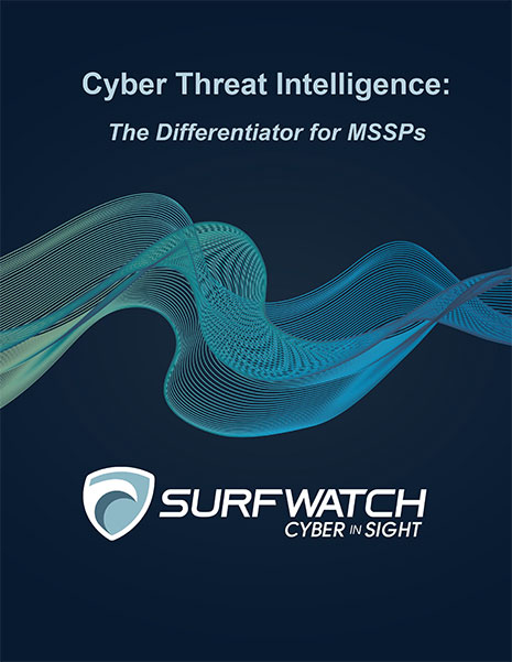 Cyber threat intelligence the differentiator for mssps 465w