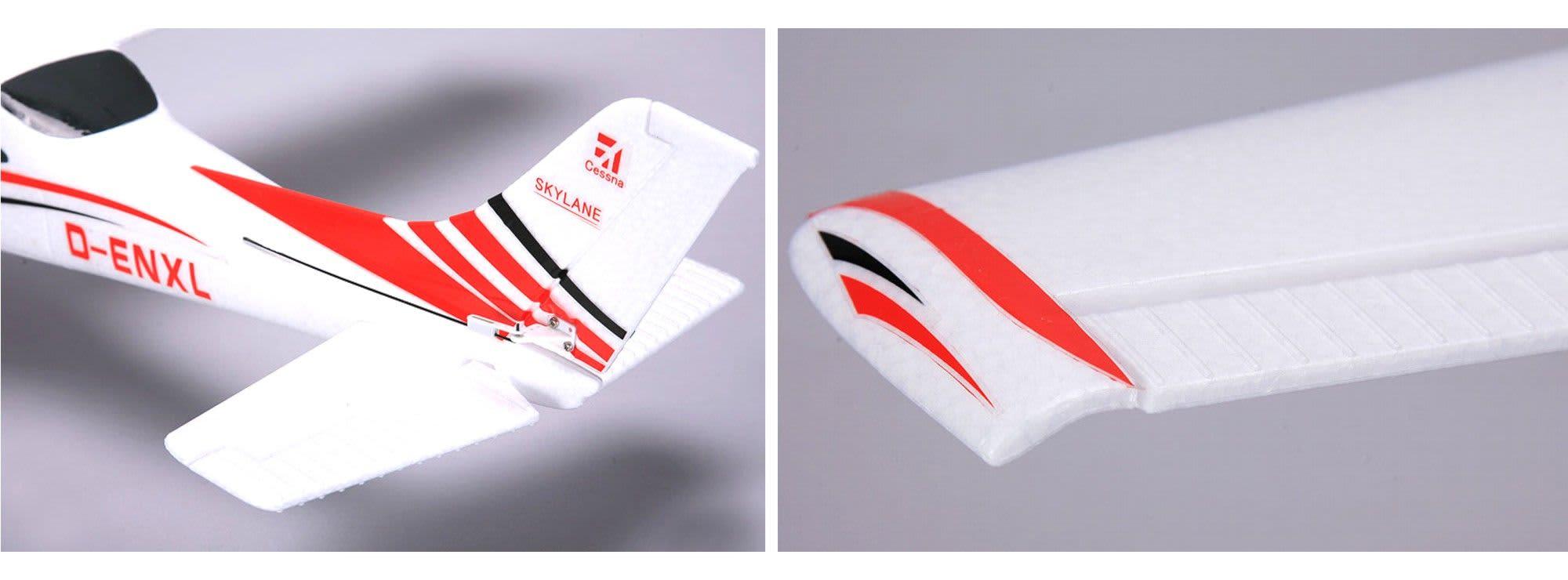 Ausverkauft hype 022 1200 cessna 182 3 micro servos bl antrieb lipo arf rc flugzeug online kaufen bei modellbau h rtle