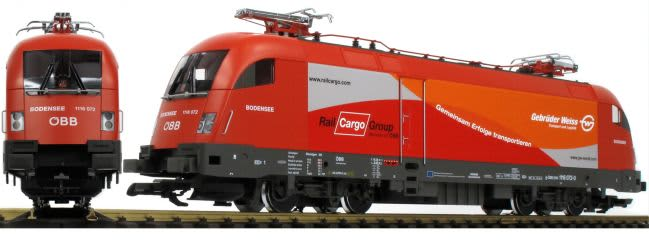 PIKO 37428 E-Lok Taurus Gebrüder Weiss ÖBB | Ep. VI | Spur G