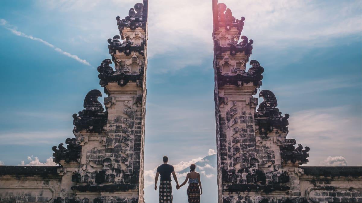 Romantika Bulan Madu Bali Bersama Tripfez