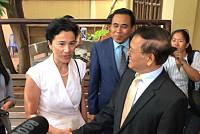 Kem Sokha meets US and French...