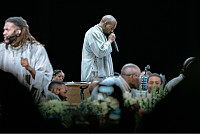 Watch: Kanye West Leads Worship...