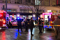 One dead and seven injured in a...