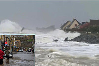 Heavy Typhoon Kills At Least One Dead...