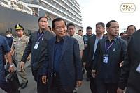 Corona, get away! Samdech Hun Sen...