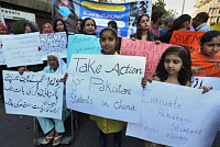 Pakistan's protests call for...