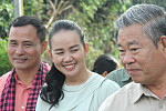 Pailin residents in Pailin City get...