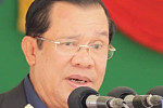At the same time, Hun Sen stressed...