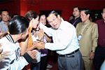 Hun Sen is proud of its economic...