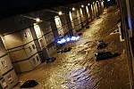Massive floods devastate cities in...