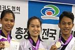 Chhoeung Lina, Taekwondo national...
