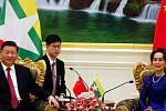 Xi Jinping visits Myanmar as the...