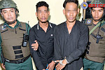 The first Steung Meanchey Police...