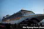 Cambodia allows a cruise ship to dock...