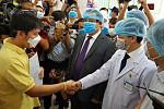 Corona! Vietnam proposes handshake...