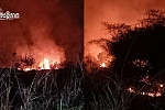 Fire engulfs more than 1,000 military...