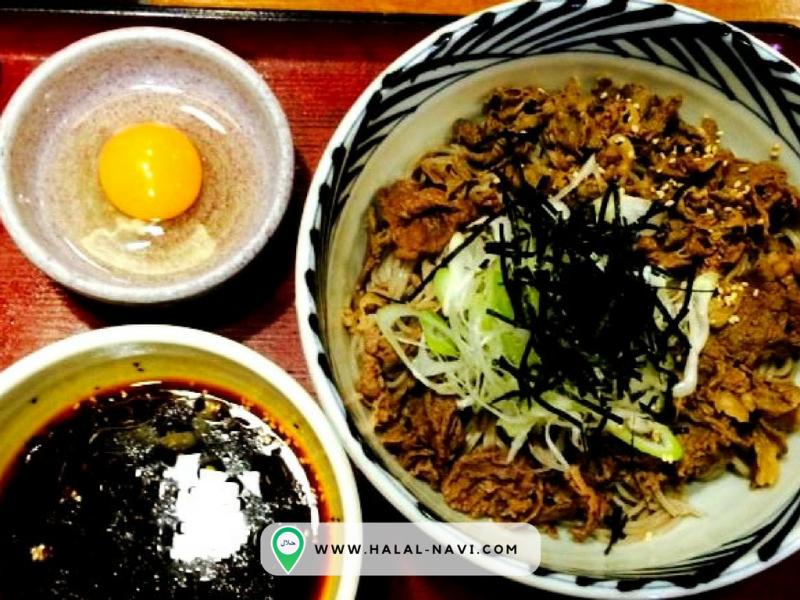 Oragasoba halal restaurant in Kansai Airport, Osaka.
