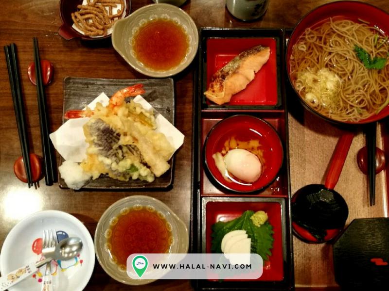 Sojibo halal restaurant in Kansai Airport, Osaka.