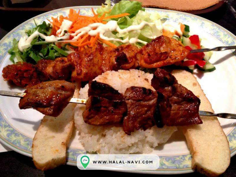 Restoran halal Mrs. istanbul di lapangan terbang Haneda