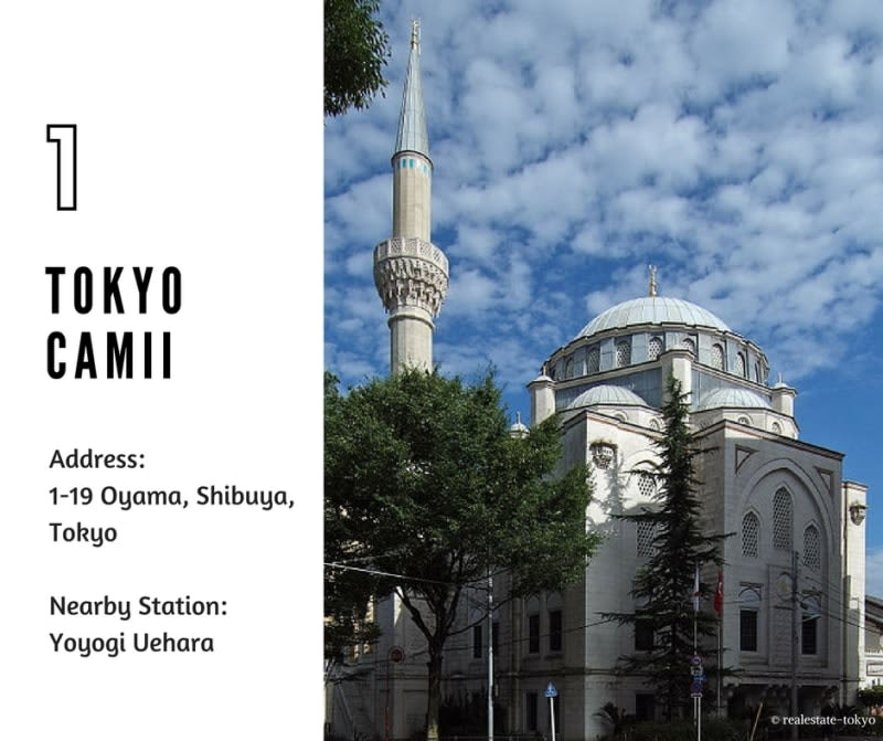 Tokyo Camii halal navi