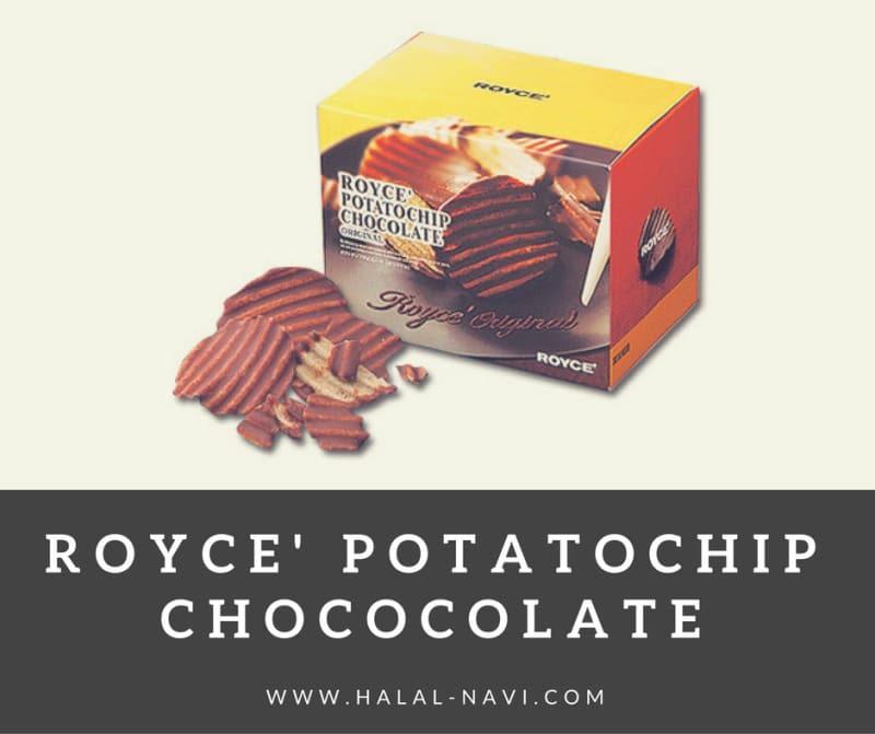 cip poteto coklat snek mesra muslim