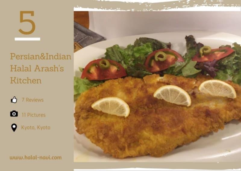 Persian & Indian Halal Arash's Kitchen